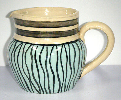 Vintage Australian Pottery Hand Painted Jug - Cynthia