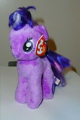Ty Beanie Baby ~ MY LITTLE PONY - Twilight Sparkle the Pony ~ MINT TAGS ~ NEW