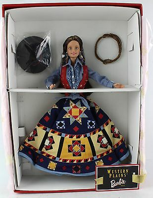 """MATTEL BARBIE Doll Lifestyles of the West """"Western Plains"""""""