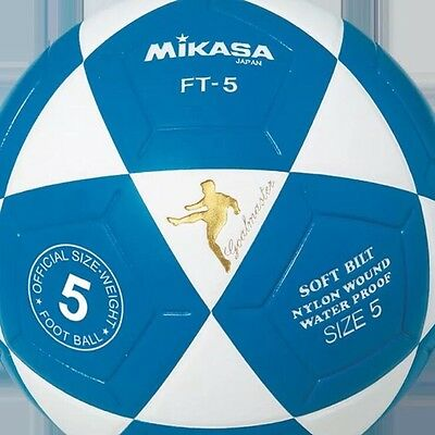 New MIKASA FT5 Goal Master Soccer Ball Size 5 Competition Game Ball FT5-WB