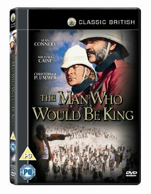 The Man Who Would Be King [DVD] [1975] - DVD  3MVG The Cheap Fast Free Post