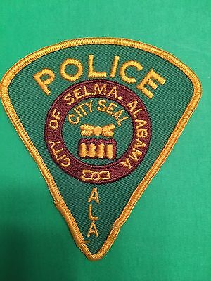 Selma  Alabama  Police  Shoulder Patch  Used