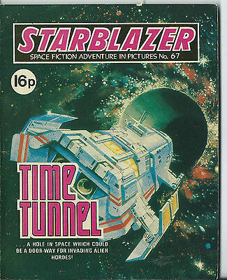 Time Tunnel,starblazer Space Fiction Adventure In Pictures,no.67,1982