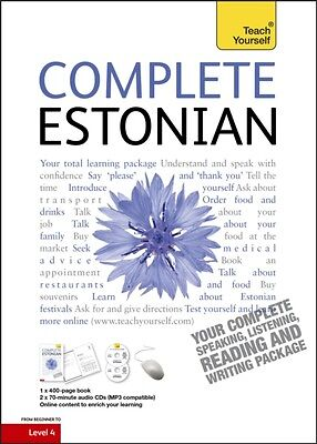 Complete Estonian Beginner to Intermediate Course: (Book and audio support) Lea.