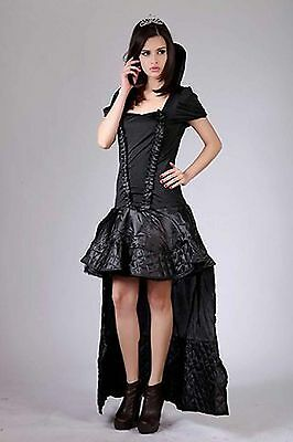 SEXY CARNIVAL DRESS OUTFIT LADIES FANCY DRESS - Vampire, Size L
