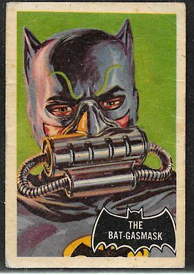 A&BC BATMAN Card No 43 The BAT-GASMASK in very good condition
