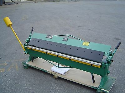1220mm x1.5mm (48''x16G) Heavy Duty Sheet Metal Panbrake Bender & Folder