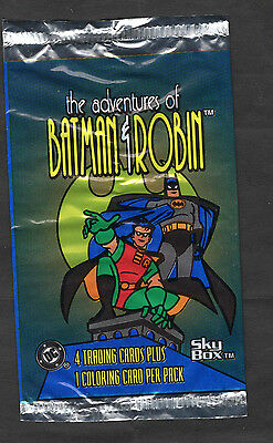Skybox Adventures Of Batman & Robin Wrapper 1995