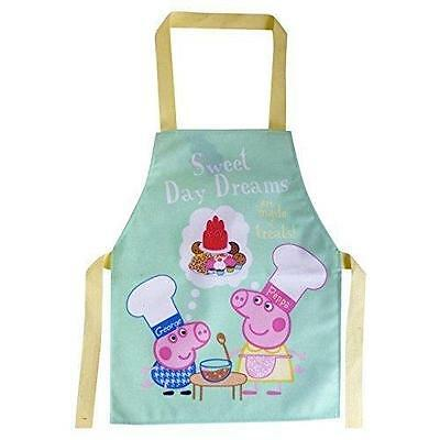 Peppa Pig - Children's Wipe Clean PVC Cotton Sweet Day Dreams Apron - Shreds