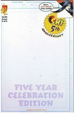 Shi: Five Year Anniversary Blank Cover Edition Vf/nm