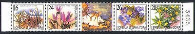 Serbia Montenegro 2003 Flowers/Nature 4v stp  (n25655a)