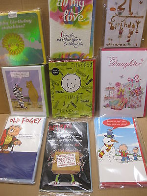 400 Greeting Cards Top Quality Card Shop Assorted Wholesale Job Lots Shops