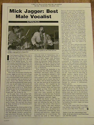 The Rolling Stones, Full Page Vintage Clipping