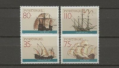 Schiffe, Ships - Portugal - 1865-1868 ** MNH 1991