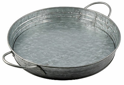 Thirstystone Luxe Galvanized Steel Serving Tray