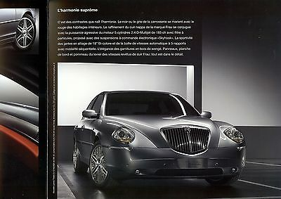 "2007 - LANCIA Thesis ""Sportiva"" special edition - Swiss sales brochure, prospekt"