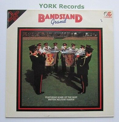 BANDSTAND GRAND - Various Military Bands - Ex Con Double LP Record Cambra CR 090