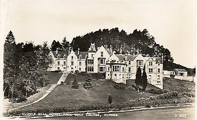 Morayshire - Forres - Clunie Hill Hotel From The Golf Course.
