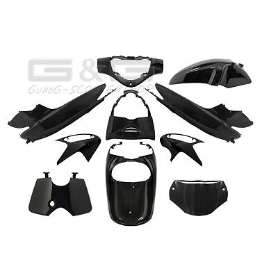 Fairing set fairing Fairing parts in black for HONDA SH 125 150ccm
