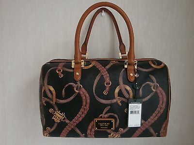Ralph Lauren Handbag-Caldwell Beltin Barrel Equestrian Cost $200 From Usa New!!