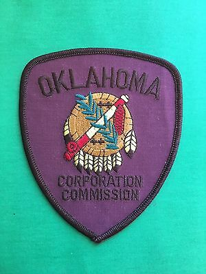 Oklahoma Corporation Commission  Shoulder Patch