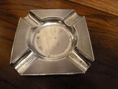 Mappin & Webb Solid Silver Ash Tray 1947