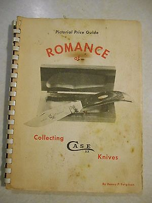 Pictorial Price Guide Romance of Collecting Case knives