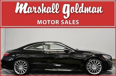 2016 Mercedes-Benz S-Class  2016 Mercedes Benz S550 AMG coupe Black with Silk Beige and espresso 600 miles
