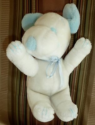 "8"" Plush Snoopy Stuffed Animal, Baby Blue and White, Peanuts Gang"