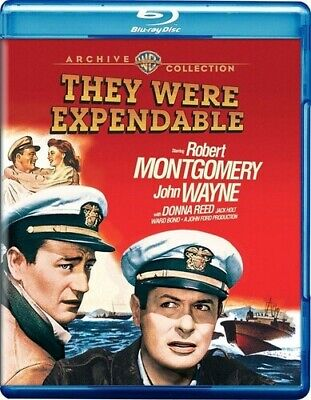 They Were Expendable [New Blu-ray] Manufactured On Demand, Digital Theater Sys