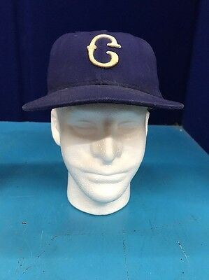 MLB Negro League Fitted Cap, Blue, Size 7-1/8, XDZ6