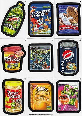 Wacky Packages A New Series Ans 10 2013 Topps Complete Base Card Set Of 55 Sf