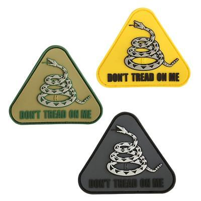 """Maxpedition Don't Tread On Me PVC Morale Patch, 3"""" X 2.6"""""""