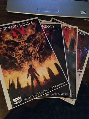 Stephen King's N 4 Issue Limited Series Marvel Comics Complete Set Run Lot