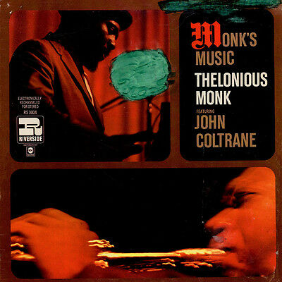 Thelonious Monk Featuring John Coltrane - Monk' (Vinyl LP - 1957 - US - Reissue)