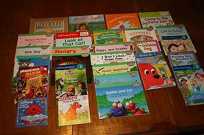 Fun Lot Of 28 Assorted Childrens LEVEL 2 Thru 4 Reader Books
