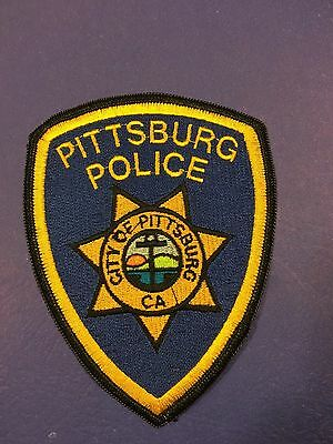 Pittsburg California   Police  Shoulder Patch