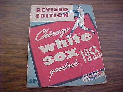 1953 Chicago White Sox Official Baseball Yearbook (Revised Edition)