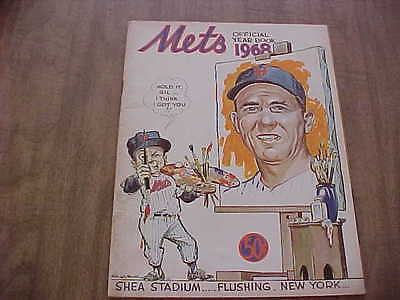 1968 New York Mets Official Baseball Year Book