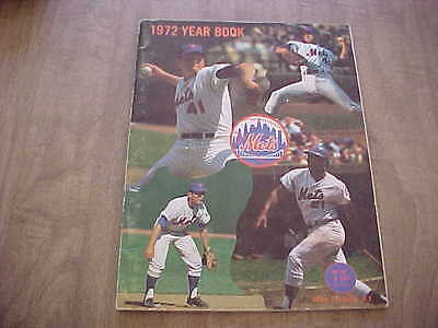 1972 New York Mets Official Baseball Year Book