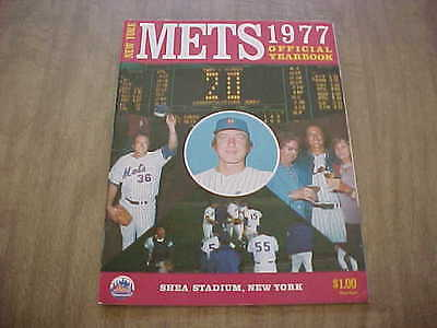 1977 New York Mets Official Baseball Yearbook