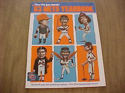 1983 New York Mets Official Baseball Yearbook