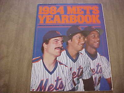 1984 New York Mets Official Baseball Yearbook