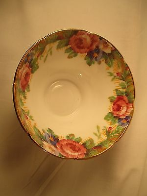 Double Hall Mark Paragon Fine China Sugar Bowl,  Tapestry Rose