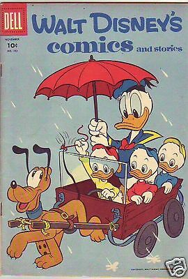 Walt Disney's Comic and Stories 182 Donald Duck strict VF 8.0  BV$53.00  40pct