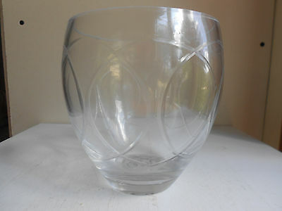 """Etched Bowl Dish FTD 5 3/4"""" tall"""