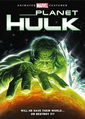 Planet Hulk [New DVD] Ac-3/Dolby Digital, Dolby, Dubbed, Subtitled, Widescreen