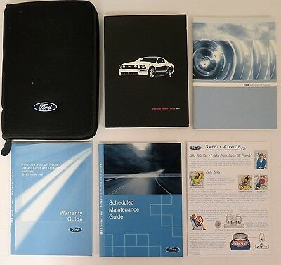 2007 Ford Mustang Owners Manual Guide Book