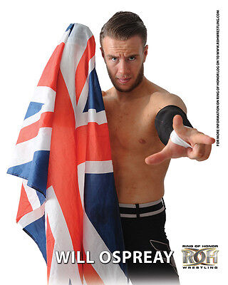 """Official ROH Ring of Honor """"Aerial Assassin"""" Will Ospreay UK 8x10"""
