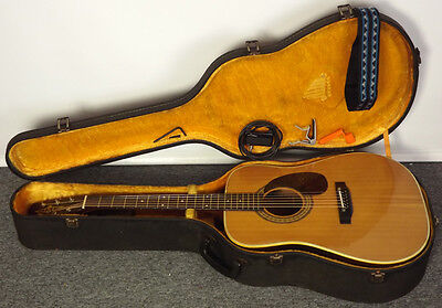 Cool Early MIJ Alvarez 5043 Acoustic w/ Case